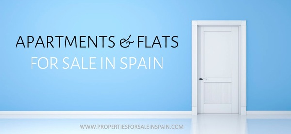 Apartments and flats for sale in Spain.