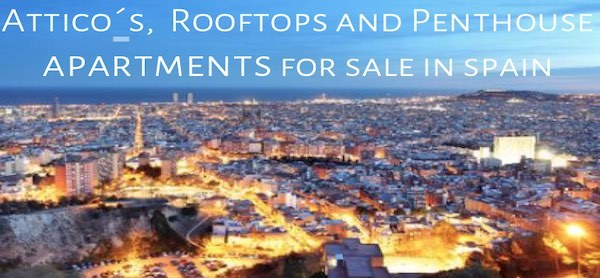 Penthouse, Rooftop a Attico Apartments for sale in Spain