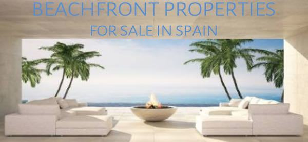 Beachfront properties for sale in Spain