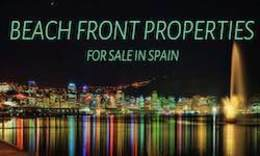 Properties for sale in Spain - Beachfront properties