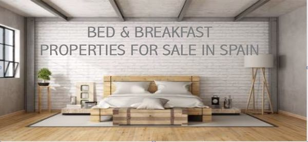 Bed and Breakfast Properties for sale in Spain