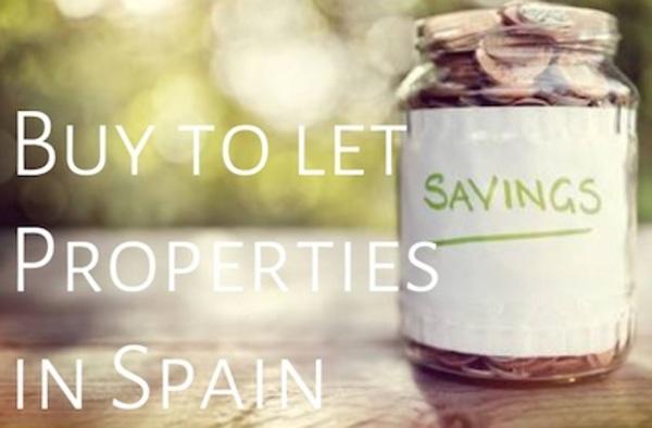 Buy to let properties for sale in Spain