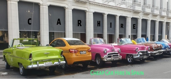 Car Hire In Spain