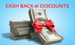 Cash Back and Discounts on properties for sale in Spain