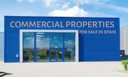 Commercial properties for sale in Spain