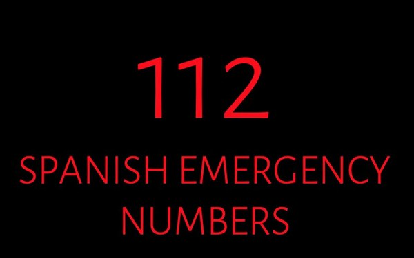 Emergency Telephone Numbers in Spain