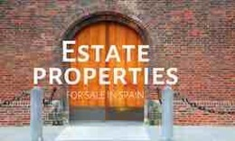 Estate properties for sale in Spain