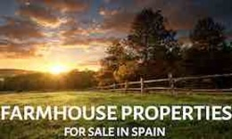Farm houses properties for sale in Spain