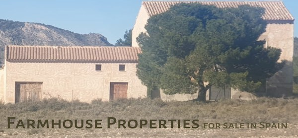 Farmhouse properties for sale in Spain