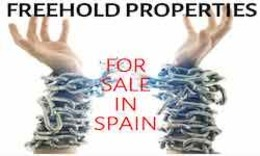 Freehold properties for sale in Spain