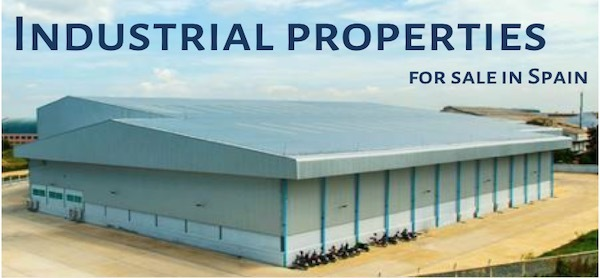 Industrial properties for sale in Spain