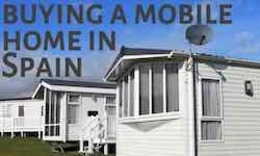 Mobile homes for sale in Spain