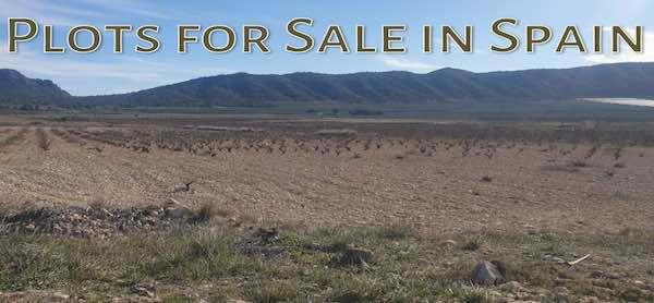 Plots for sale in Spain