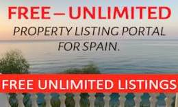Free property listing website in Spain