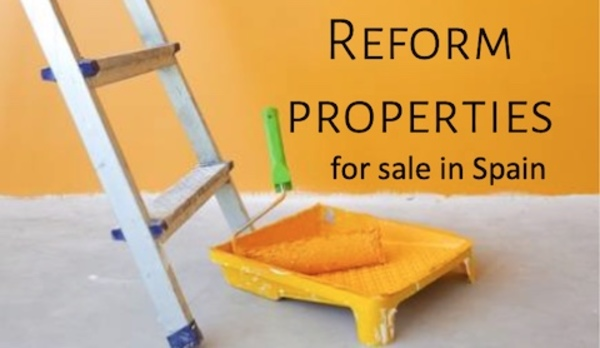 Reform properties for sale in Spain
