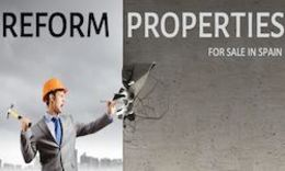 Properties for sale in Spain - Reform properties for sale in Spain
