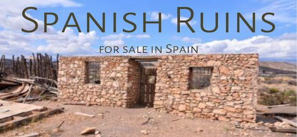 Ruins for sale in Spain