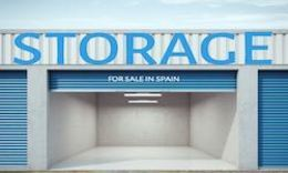 Storage space for sale in Spain