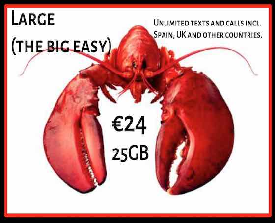 Lobster Mobile - Unlimited texts and calls to the U.K